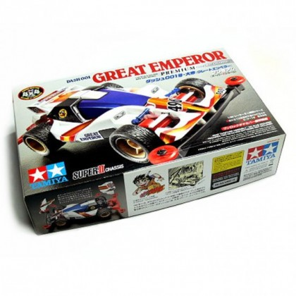 ORI Tamiya MINI 4WD 18075 Dash-001 Great Emperor Premium (Super-II Chassis) Original