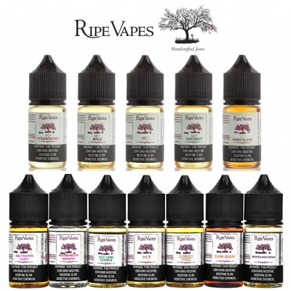 30ml SALT VCT VANILLA CUSTARD by RIPE VAPES VAPE EJUICE USA